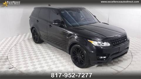 2017 Land Rover Range Rover Sport for sale at Excellence Auto Direct in Euless TX