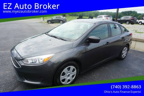 2018 Ford Focus for sale at EZ Auto Broker in Mount Vernon OH