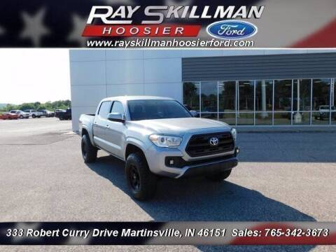2016 Toyota Tacoma for sale at Ray Skillman Hoosier Ford in Martinsville IN