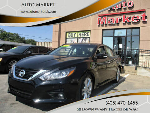 2017 Nissan Altima for sale at Auto Market in Oklahoma City OK