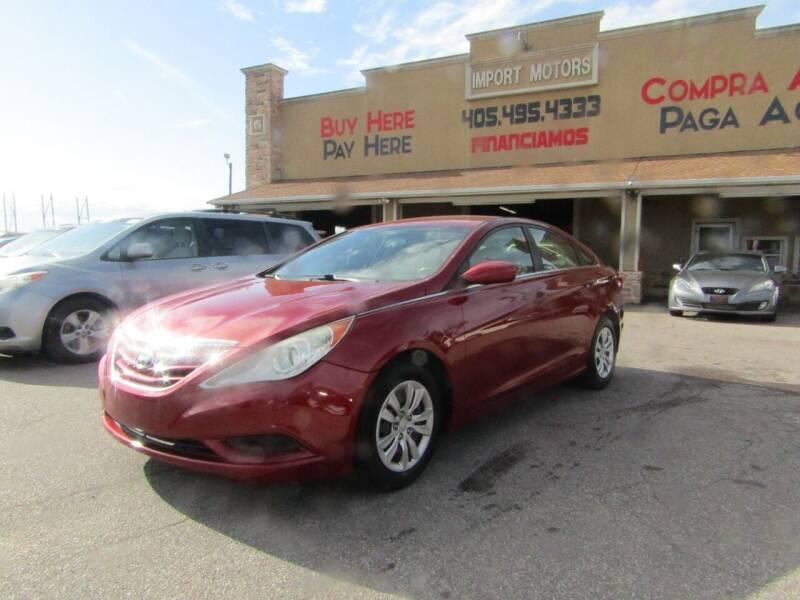 2011 Hyundai Sonata for sale at Import Motors in Bethany OK