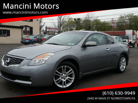 2008 Nissan Altima for sale at Mancini Motors in Norristown PA