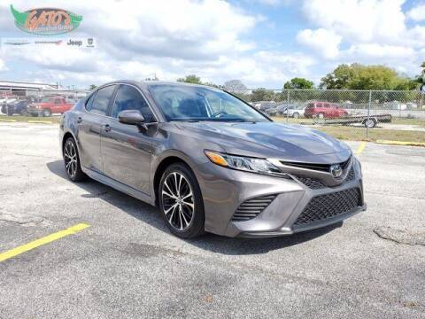 2019 Toyota Camry for sale at GATOR'S IMPORT SUPERSTORE in Melbourne FL