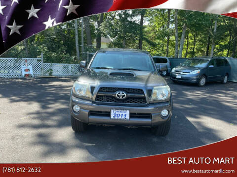 2011 Toyota Tacoma for sale at Best Auto Mart in Weymouth MA