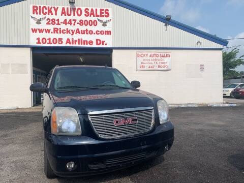 2007 GMC Yukon for sale at Ricky Auto Sales in Houston TX