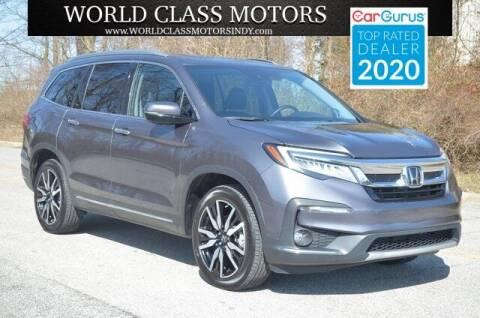 2019 Honda Pilot for sale at World Class Motors LLC in Noblesville IN