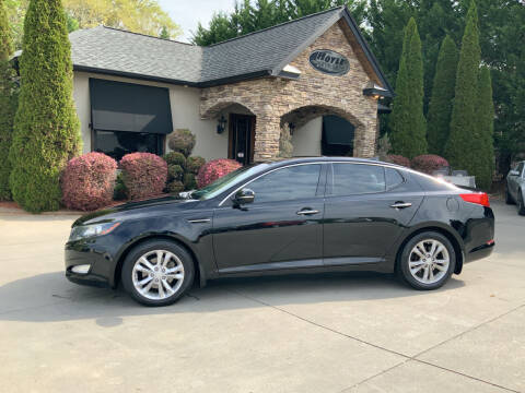 2013 Kia Optima for sale at Hoyle Auto Sales in Taylorsville NC