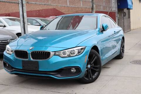 2018 BMW 4 Series for sale at HILLSIDE AUTO MALL INC in Jamaica NY