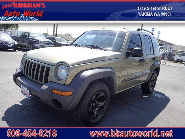 2003 Jeep Liberty for sale at Bruce Kirkham Auto World in Yakima WA