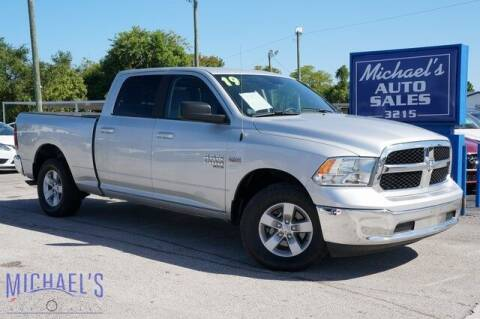 2019 RAM Ram Pickup 1500 Classic for sale at Michael's Auto Sales Corp in Hollywood FL