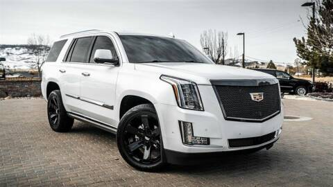 2018 Cadillac Escalade for sale at MUSCLE MOTORS AUTO SALES INC in Reno NV