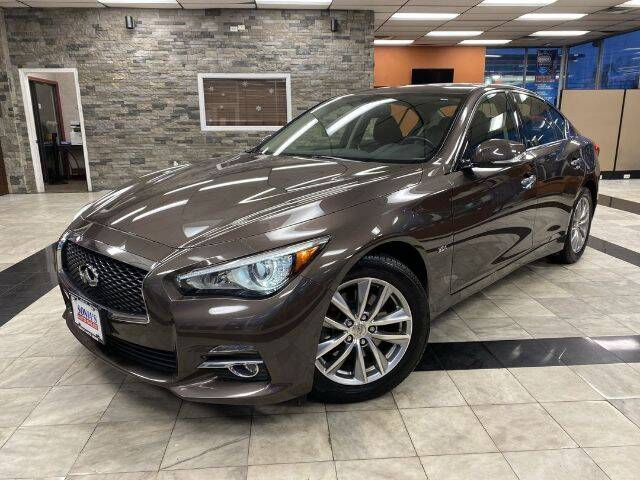 2017 Infiniti Q50 for sale at Sonias Auto Sales in Worcester MA
