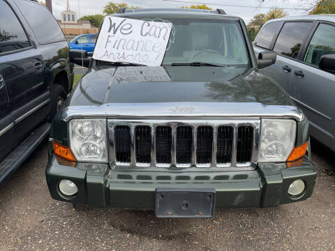 2007 Jeep Commander for sale at Continental Auto Sales in White Bear Lake MN