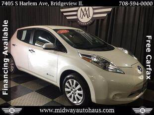2016 Nissan LEAF for sale in Bridgeview, IL