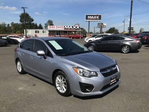 2014 Subaru Impreza for sale at Maxx Autos Plus in Puyallup WA