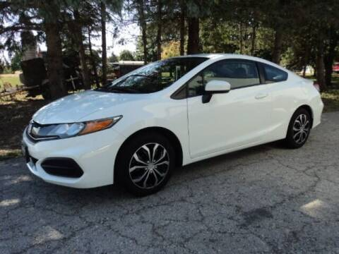 2014 Honda Civic for sale at HUSHER CAR COMPANY in Caledonia WI