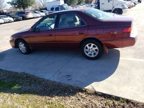 2001 Toyota Camry for sale at El Jasho Motors in Grand Prairie TX
