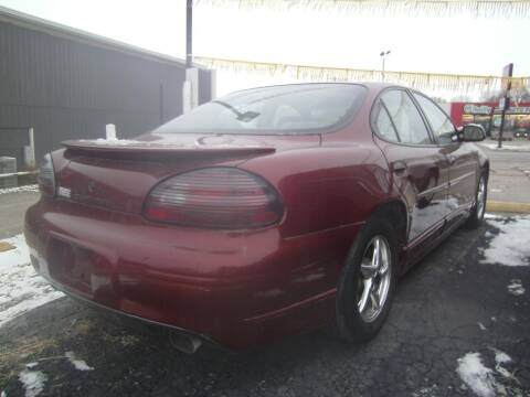 2002 Pontiac Grand Prix for sale at MITRISIN MOTORS INC in Oskaloosa IA
