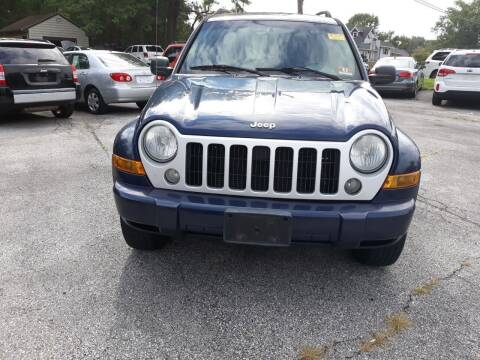 2007 Jeep Liberty for sale at GALANTE AUTO SALES LLC in Aston PA