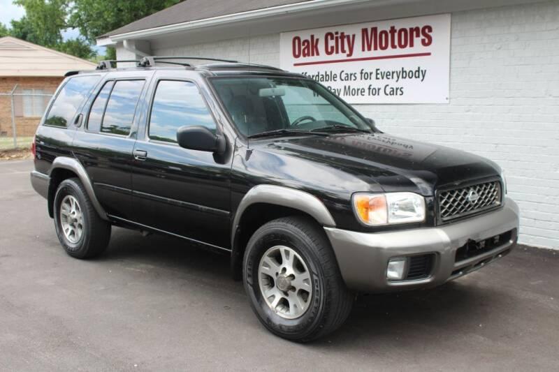 2001 Nissan Pathfinder for sale at Oak City Motors in Garner NC