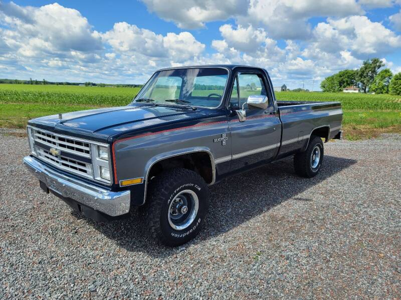1986 Chevrolet C/K 10 Series for sale at Shinkles Auto Sales & Garage in Spencer WI