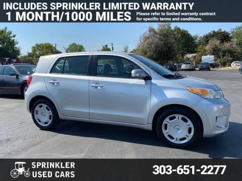2010 Scion xD for sale at Sprinkler Used Cars in Longmont CO