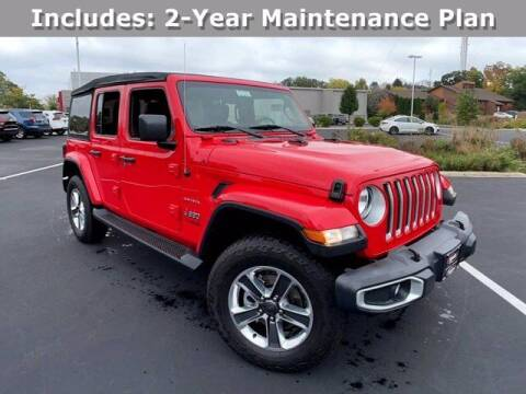 2020 Jeep Wrangler Unlimited for sale at Smart Budget Cars in Madison WI