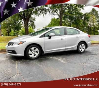2014 Honda Civic for sale at JP Auto Enterprise LLC in Duluth GA