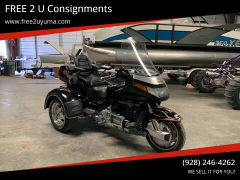 1993 Honda Goldwing for sale at FREE 2 U Consignments in Yuma AZ