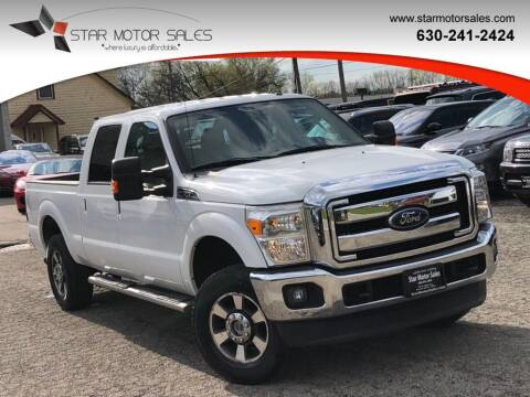 2012 Ford F-250 Super Duty for sale at Star Motor Sales in Downers Grove IL