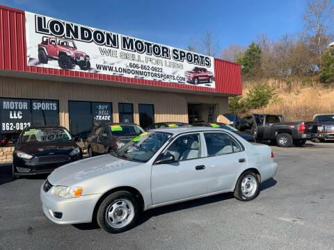 2002 Toyota Corolla for sale at London Motor Sports, LLC in London KY