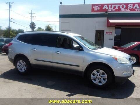 2011 Chevrolet Traverse for sale at About New Auto Sales in Lincoln CA