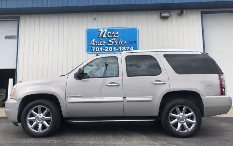 2007 GMC Yukon for sale at NESS AUTO SALES in West Fargo ND