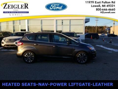 2018 Ford C-MAX Hybrid for sale at Zeigler Ford of Plainwell- michael davis in Plainwell MI