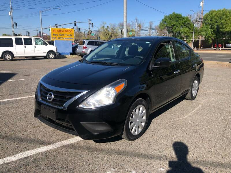 2016 Nissan Versa for sale at All Cars & Trucks in North Highlands CA