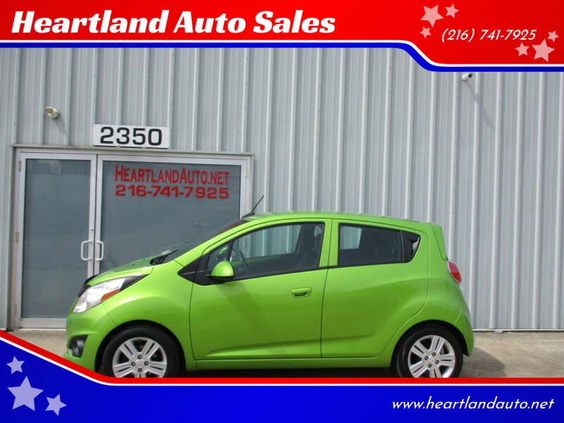 2014 Chevrolet Spark for sale at Heartland Auto Sales in Medina OH