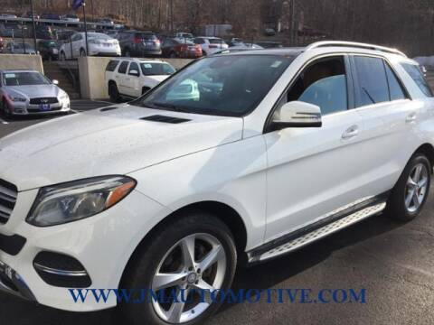 2016 Mercedes-Benz GLE for sale at J & M Automotive in Naugatuck CT
