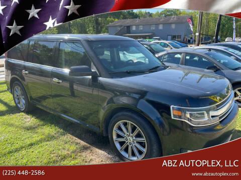 2013 Ford Flex for sale at ABZ Autoplex, LLC in Baton Rouge LA