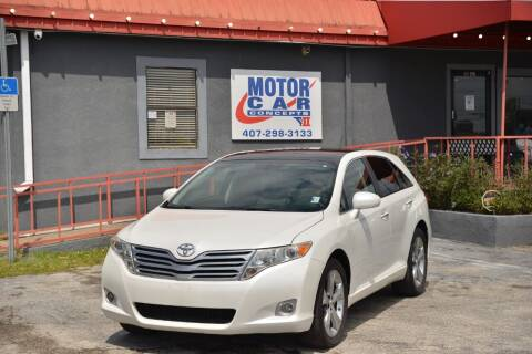 2010 Toyota Venza for sale at Motor Car Concepts II - Kirkman Location in Orlando FL