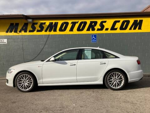 2016 Audi A6 for sale at M.A.S.S. Motors - Fairview in Boise ID