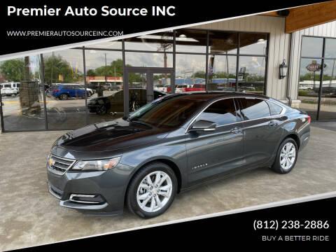 2019 Chevrolet Impala for sale at Premier Auto Source INC in Terre Haute IN