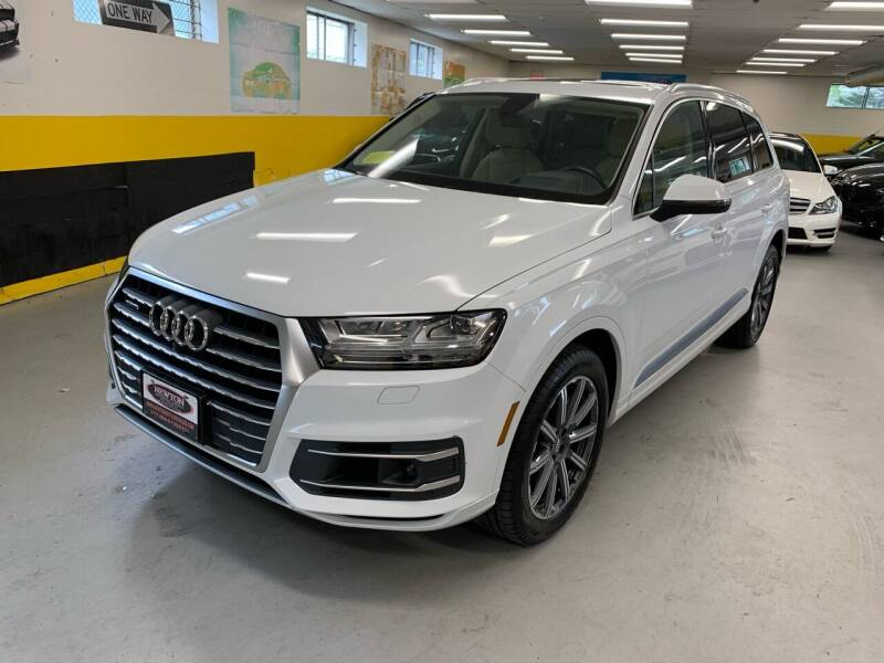 2018 Audi Q7 for sale at Newton Automotive and Sales in Newton MA