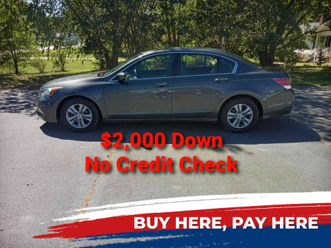 2011 Honda Accord for sale at BP Auto Finders in Durham NC