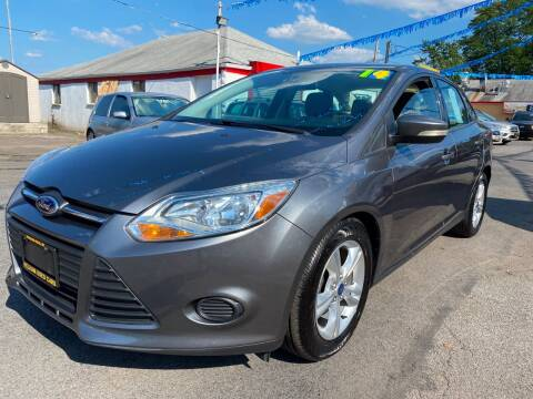 2014 Ford Focus for sale at PELHAM USED CARS & AUTOMOTIVE CENTER in Bronx NY