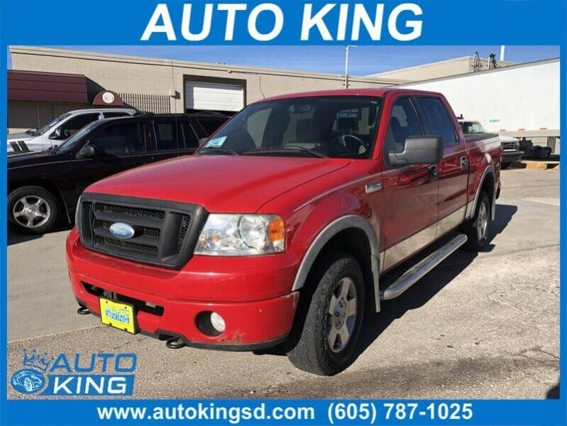 2006 Ford F-150 for sale at Auto King in Rapid City SD