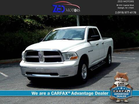 2009 Dodge Ram Pickup 1500 for sale at Zed Motors in Raleigh NC