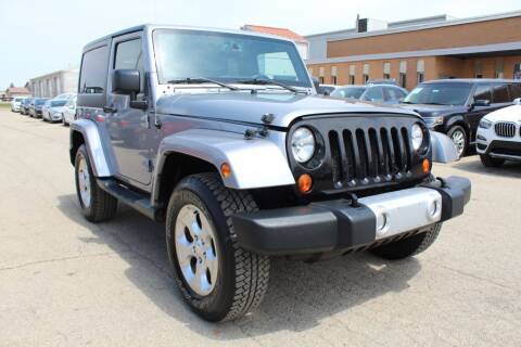2015 Jeep Wrangler for sale at SHAFER AUTO GROUP in Columbus OH