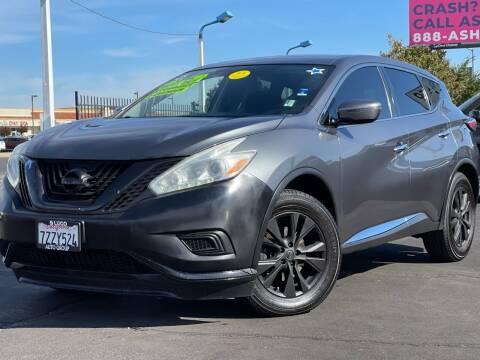 2016 Nissan Murano for sale at LUGO AUTO GROUP in Sacramento CA