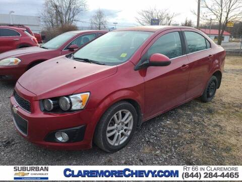 2014 Chevrolet Sonic for sale at Suburban Chevrolet in Claremore OK