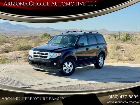2012 Ford Escape for sale at Arizona Choice Automotive LLC in Mesa AZ